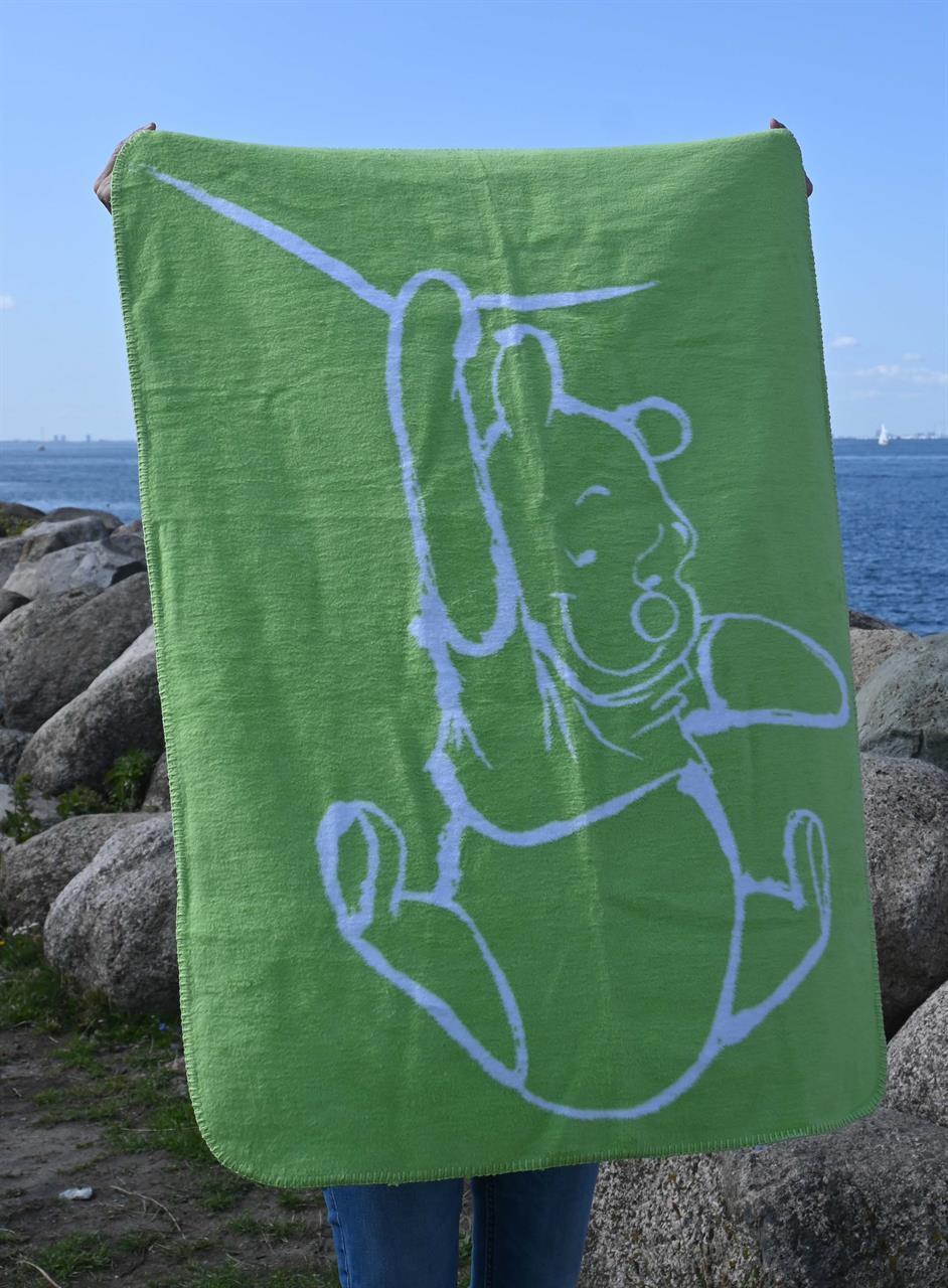 Nalle Puh, grön