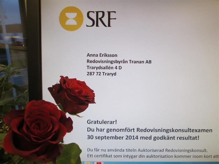 Gratulerar Anna