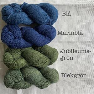 Marinblå Filisilk