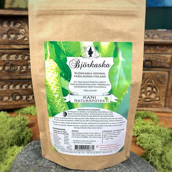 Björkaska 150 g Miljöförpackning