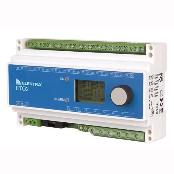 ETO2-4550 Fukt/temp digital termostat