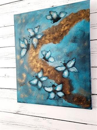 Tavla -Fjärilar by Valentina Achim