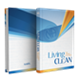 Living Clean hardcover