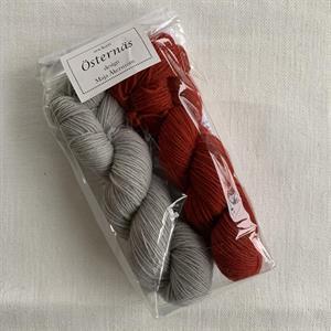 Östernäs - Röd - strumppaket