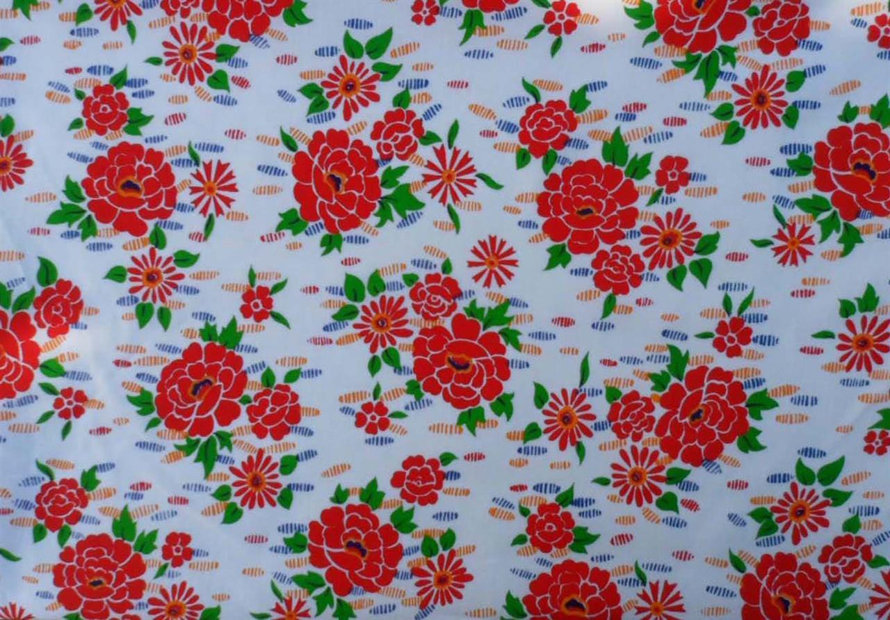 Blomma, röd