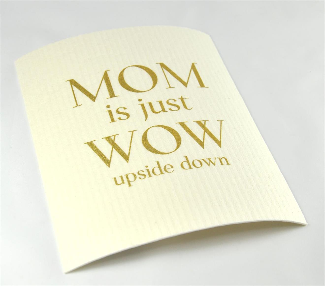 Disktrasa, MOM is just WOW, vit/guld