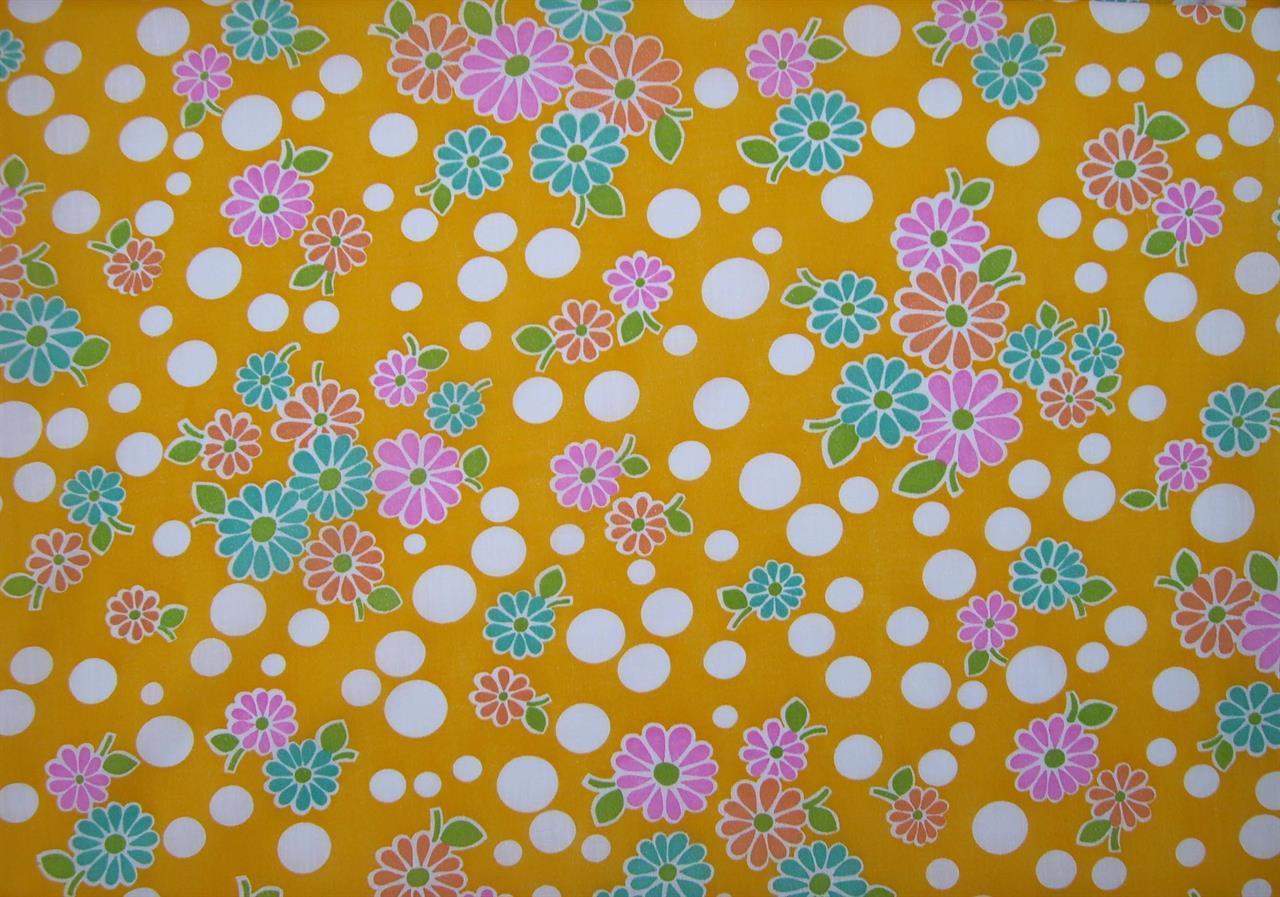 Blomsteräng, gul