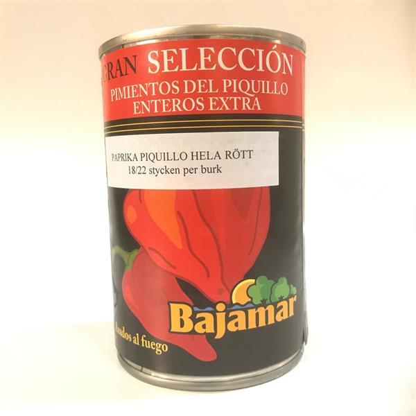 Paprika Piq. Bajamar 425 ml 12 st