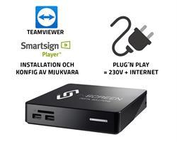 Installation A2 - Smartsign + TeamViewer