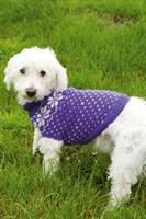 Hund tröja med blommor