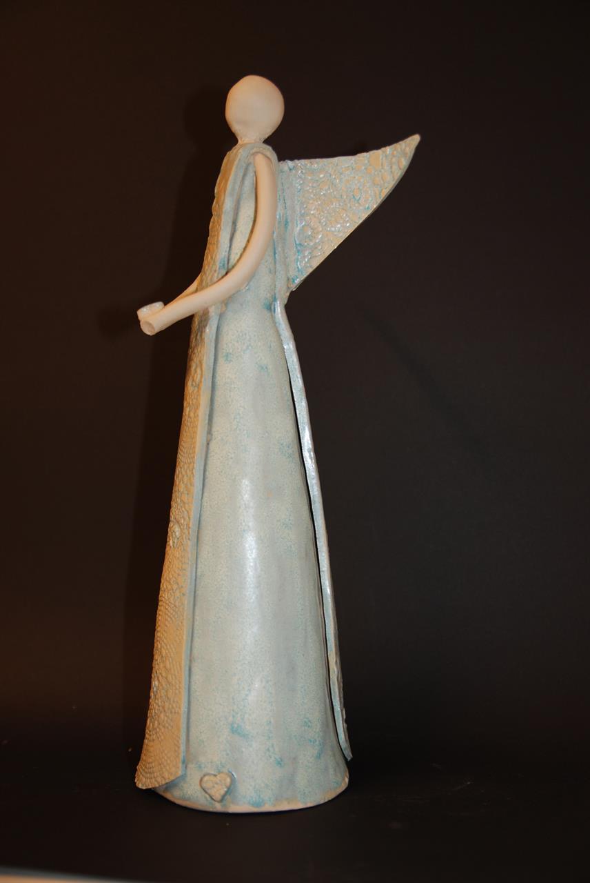 "Engel laget på Keramikkurs ""Engler og figurer"""