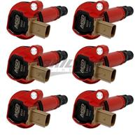Coil, RED, Ford Eco-Boost 3.5L V6, 6-Pk