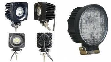 LED belysning för fordon och arbete