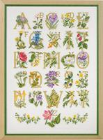 Blommster ABC linne