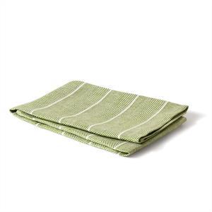 Handduk Fiskben bladgrön-vit
