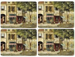 Parisian scenes spisebrikker 4 stk