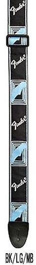 "Fender 2"" monogrammed strap BK-LG-MB"