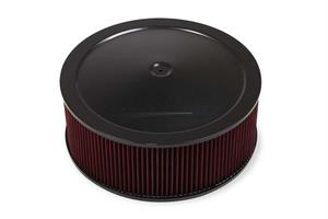 4500 DROP-BASE AIR CLEANER BLK W/ 6 IN