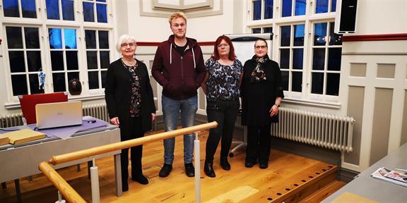 Kursledarna: Elisabet, Jonas, Liz och Linda