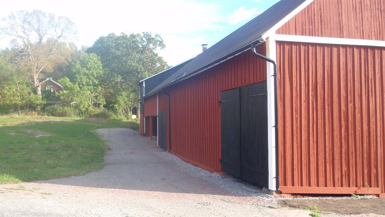 Gårdsbutikens baksida