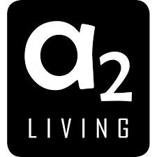 A2 Living lykt - mini quadro galvanisert
