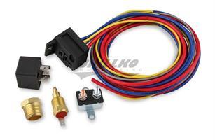 ELECTRIC FAN HARN./RELAY KIT 180 DEG-30A
