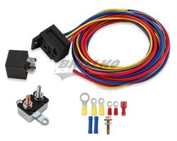Electric Fuel Pump Harn./Relay Kit 30A