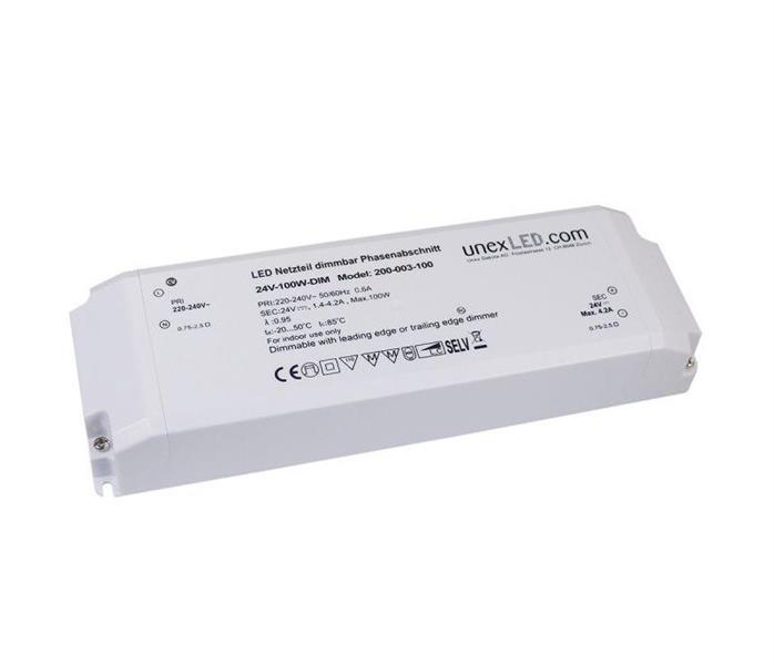 LED Driver 24V 100W dimbar trailing edge