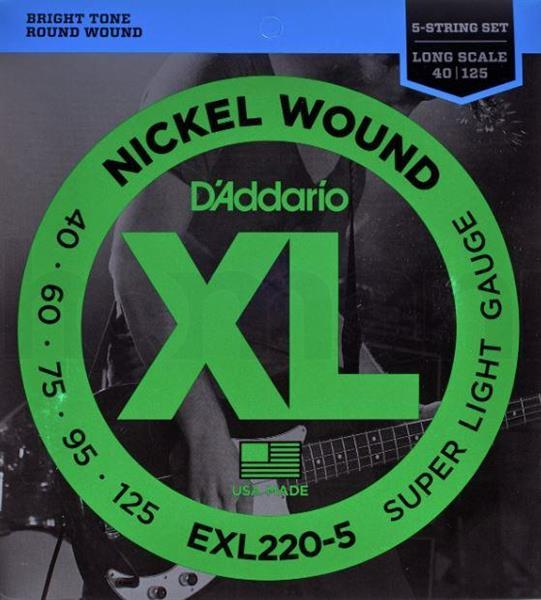 D'Adario EXL165-5
