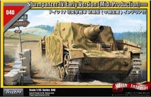 Sturmpanzer IV Early Version (Mid. Production) wit