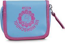 Snobben plånbok blå/rosa