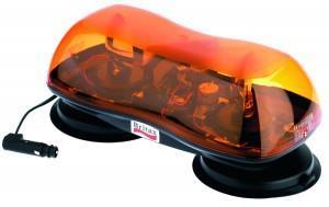 Ljusramp 420 mm Gul Magnetfot