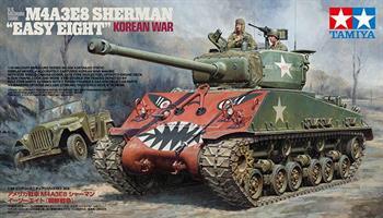 US Medium Tank M4A3E8 Sherman -