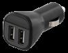 CIGG-ADAPTER, USB, 2,4A, SV, DELTACO