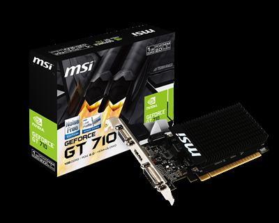 GRAFIKKORT, MSI GF GT710 1GB