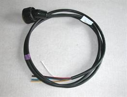 Kabel 7 pol grön, öppen ände 3,0 m