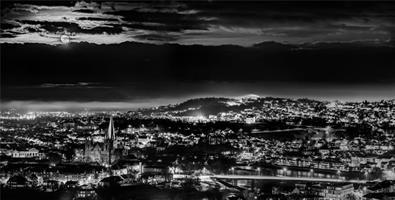 Aziz Nasuti-Moon over dramatic Trondheim