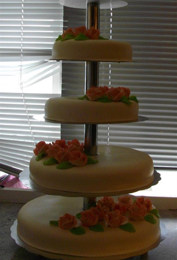 Bröllopstårta 70 personer