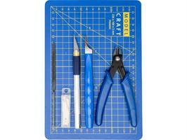 Pro Plastikk Modell verktøy sett
