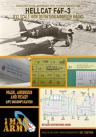 1/32 Mask for F6F-3 Early Hellcat