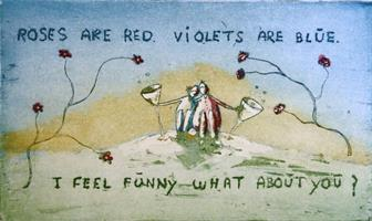 Marianne Gudem-Roses are red