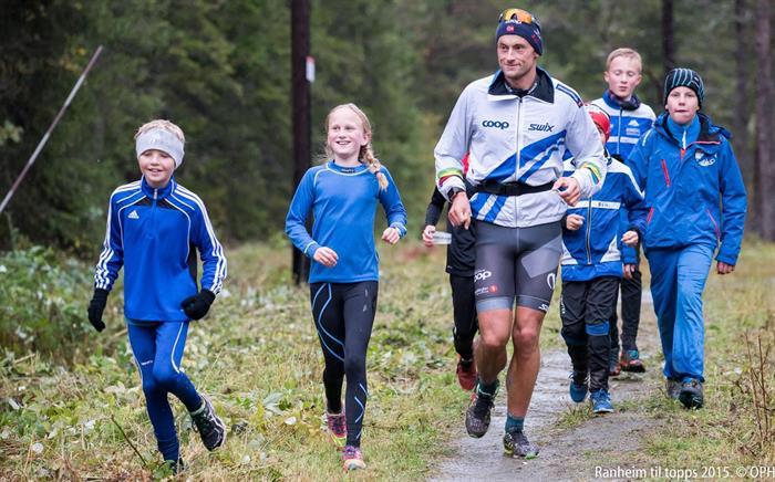 Ny deltakerrekord i Ranheim til topps - motbakkeløpet for alle!