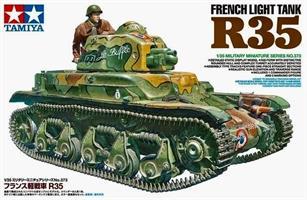 French Light Tank R35