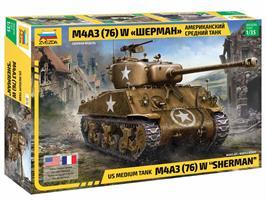 US medium tank M4A3 (76) W