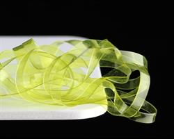 Flat body glas- chartreuse