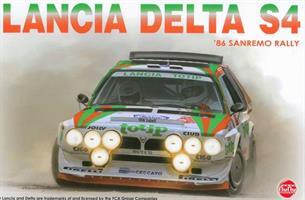 Lancia Delta S4 '86 Sanremo Rally