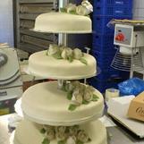 Bröllopstårta 100 personer