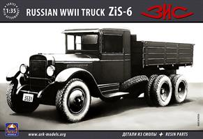ZiS-6 Russian truck