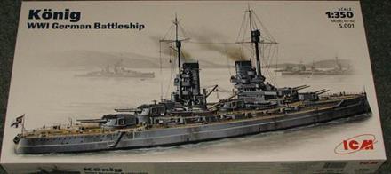 König WWI German Battelship