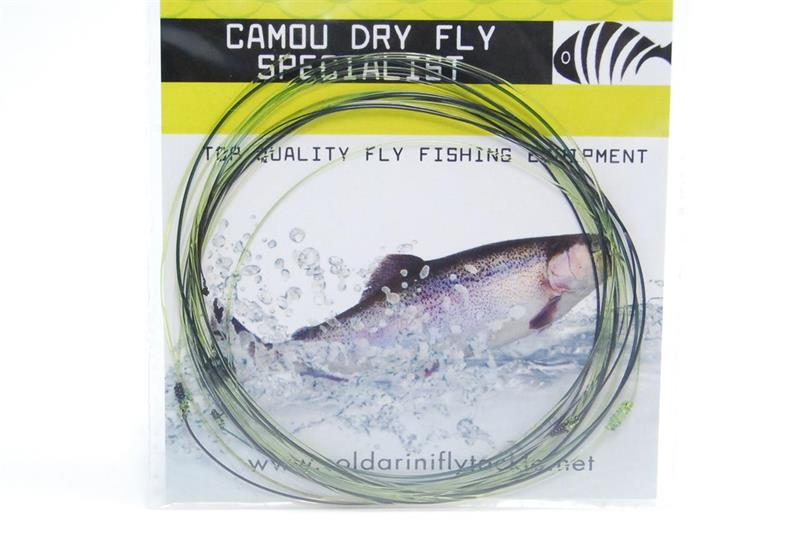 Camou Dry Fly Specialist knotted 15ft 0,12
